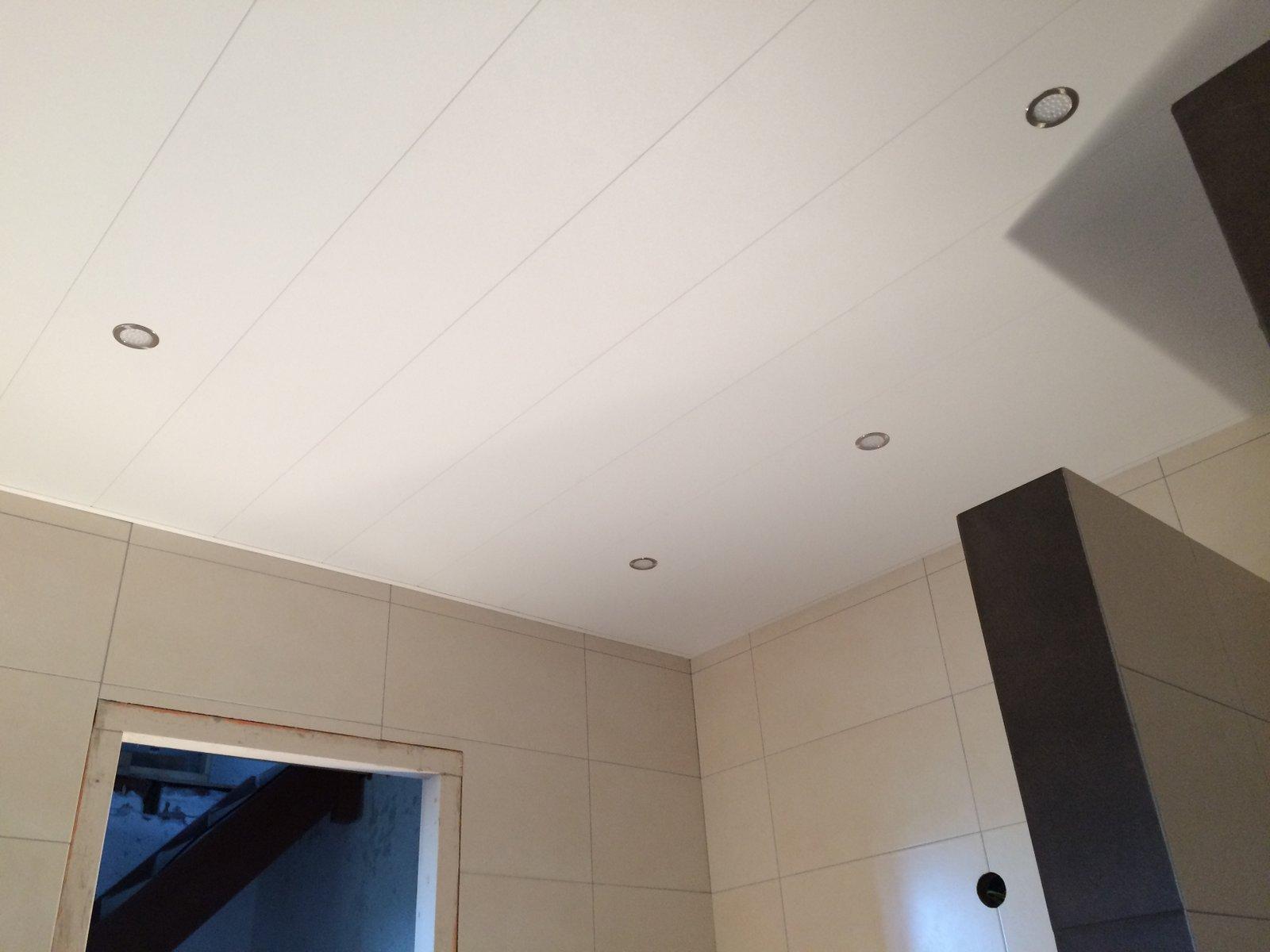 Plafond en vloeren